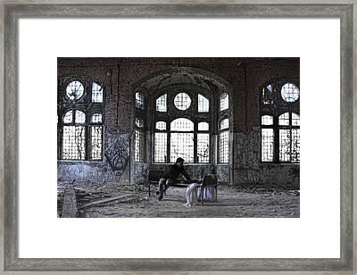 Endzeit Framed Print