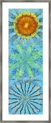 Energizing Pipe Dream Flower  Id 16165-113521-28870 Framed Print by S Lurk