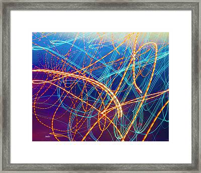 Energy Framed Print by Betsy C Knapp