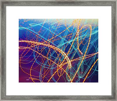 Energy Framed Print by Betsy Knapp