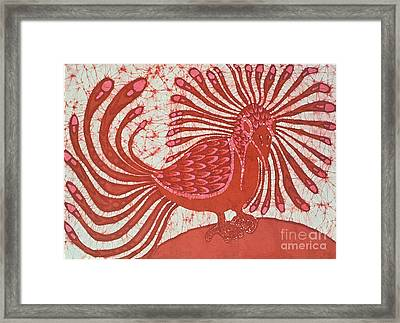 Energy Bird Framed Print