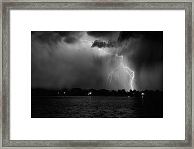 Energy Black And White Framed Print by James BO  Insogna
