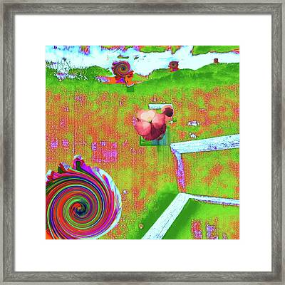 Energy Cycle No. 2 Framed Print