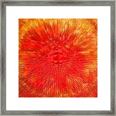 Energy-explosion Framed Print by Ramon Labusch