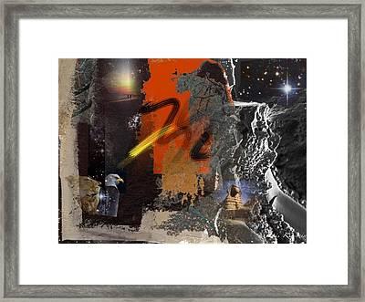 Energy Fields 2 Framed Print by Janis Kirstein