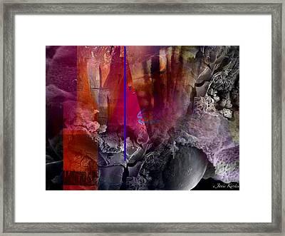 Energy Fields 3 Framed Print by Janis Kirstein