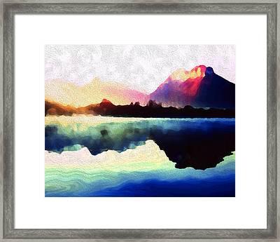 Energy Flow Framed Print