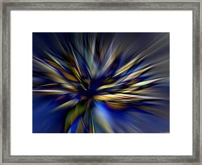 Energy In Flight Framed Print