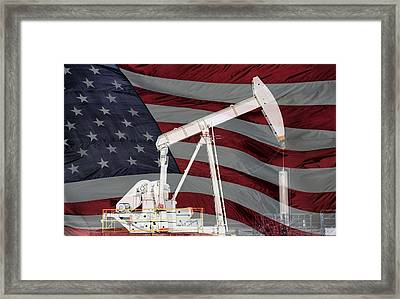 Energy Independence  Framed Print by JC Findley