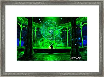 Energy Framed Print by Leonardo Digenio