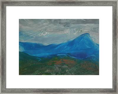 Energy Of The Carpathians Framed Print by Marina Vasilenko