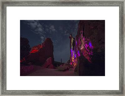 Energy Outward #2 Framed Print by Knomad Colab