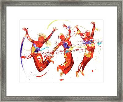 Energy Framed Print by Penny Warden