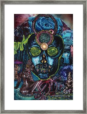 Energy Self Portrait Framed Print