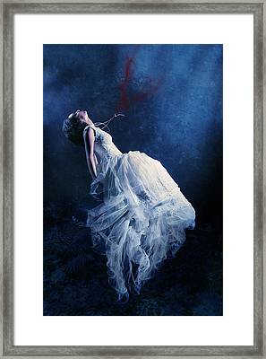 Energy Vampire Framed Print