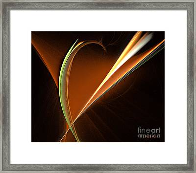 Energy Within Framed Print by Addie Hocynec