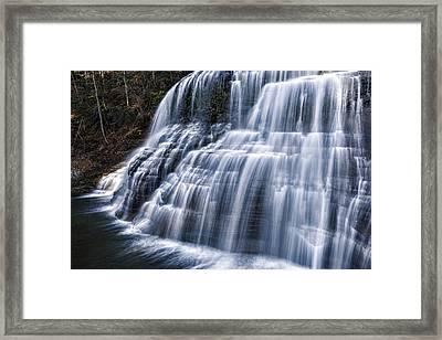 Lower Falls #1 Framed Print by Stephen Stookey