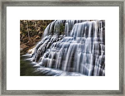 Lower Falls #4 Framed Print by Stephen Stookey