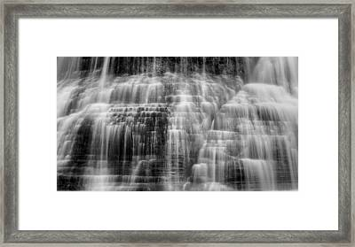 Lower Falls Cascade #2 Framed Print by Stephen Stookey