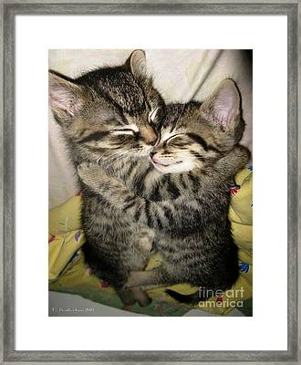 Enfold Framed Print by Heather King