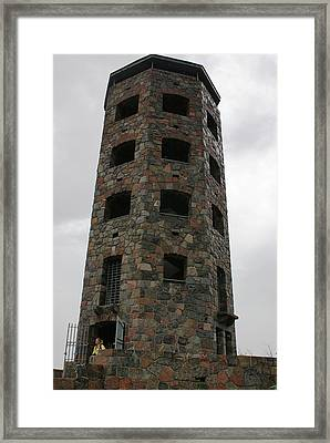 Framed Print featuring the photograph Enger Tower by Ron Read