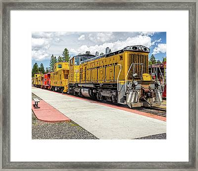 Engine #1042 Framed Print