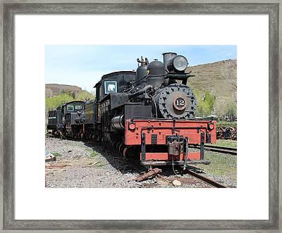 Engine 12 Framed Print by Lorraine Baum