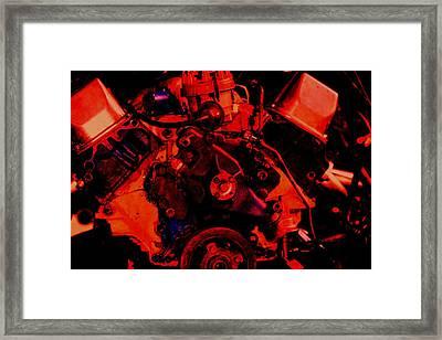 Engine 2 Framed Print by Lisa Johnston