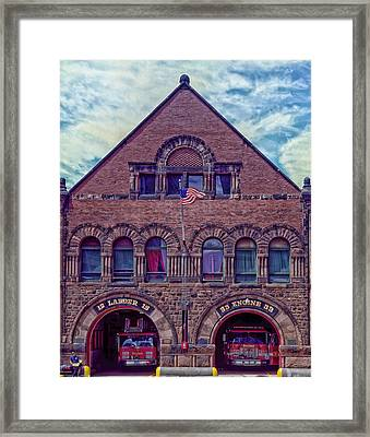 Engine 33 - Boston Framed Print
