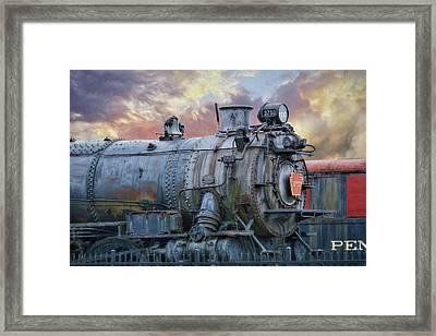 Engine 3750 Framed Print by Lori Deiter