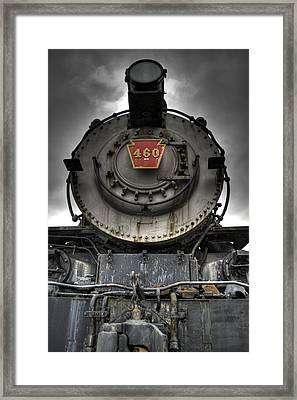 Engine 460 Front And Center Framed Print