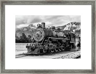 Engine 73 Framed Print by Dawn Currie