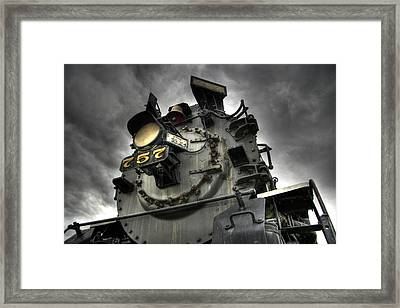 Engine 757 Framed Print