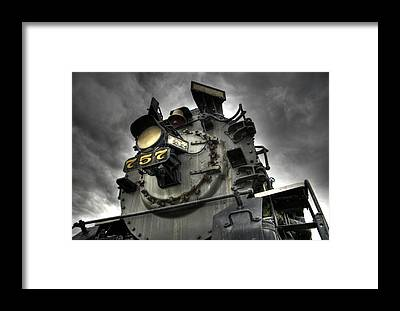 Engine Framed Prints