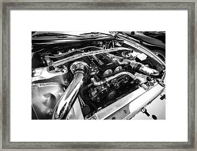 Engine Bay Framed Print