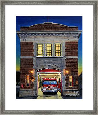 Engine Company 10 Framed Print by Paul Walsh