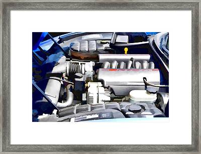 Engine Compartment 1 Framed Print