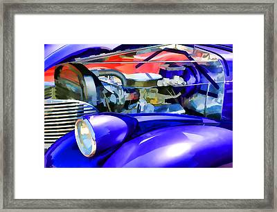Engine Compartment 11 Framed Print