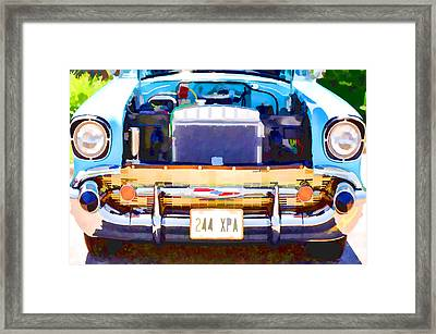 Engine Compartment 12 Framed Print