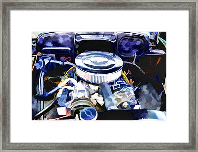 Engine Compartment 2 Framed Print