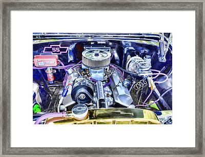 Engine Compartment 3 Framed Print
