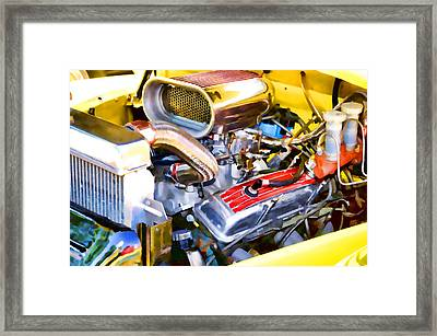 Engine Compartment 5 Framed Print