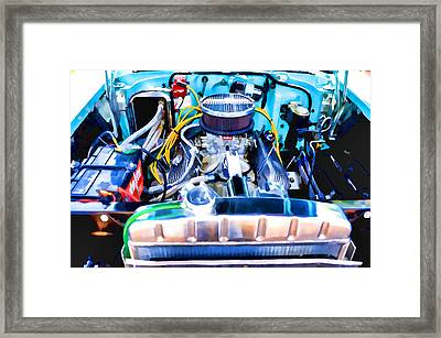 Engine Compartment 7 Framed Print