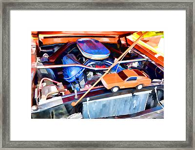 Engine Compartment 8 Framed Print