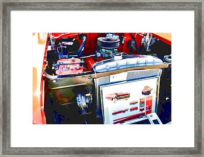 Engine Compartment 9 Framed Print