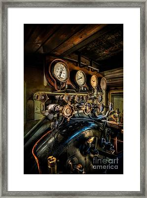 Engine Room Framed Print by Adrian Evans