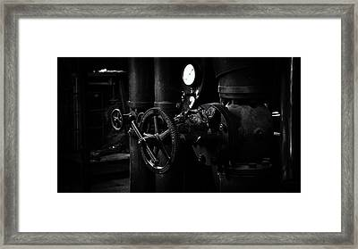 Framed Print featuring the photograph Engine Room by Tim Nichols