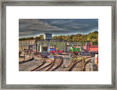 Engine Sheds Quainton Road Buckinghamshire Railway Framed Print by Chris Thaxter