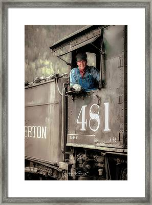 Engineer 481 Framed Print