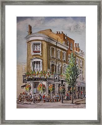 England London The Duke Of Kendal Framed Print by Yvonne Ayoub